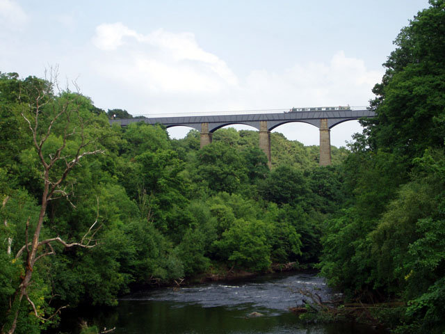 Aqueduct over the River Dee